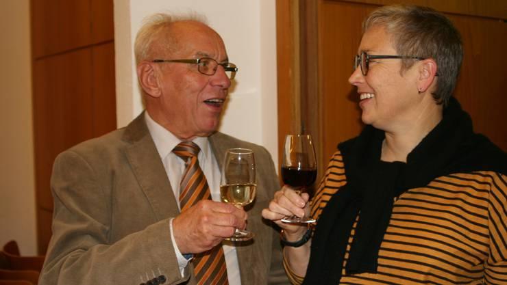 Auf Paul Bruderer folgt als Präsidentin der reformierten Kirchgemeinde Baden Ana G. Voellmin