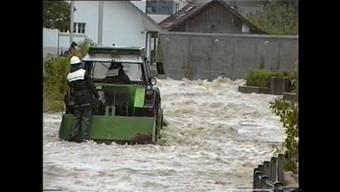 Überschwemmungen vom 19. Mai 1994: Videoaufnahmen des verstorbenen ehemaligen Oberkulmer Feuerwehrkommandanten Ernst Beck.