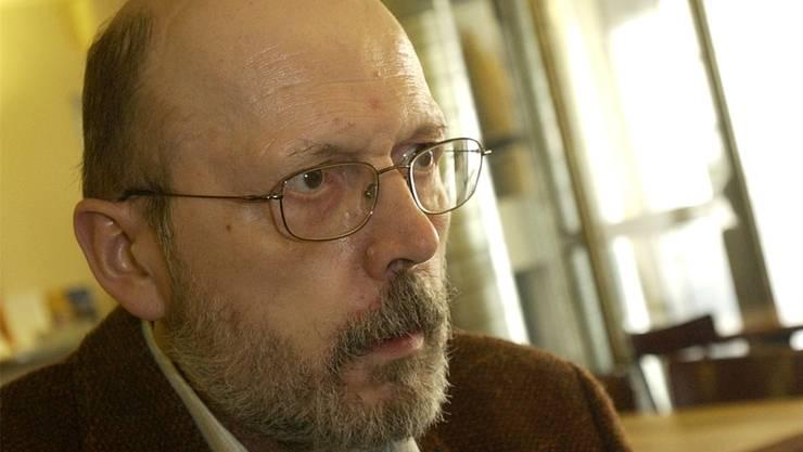 Der gebürtige Solothurner Autor Walter Schenker (75) liest am Montag in der Zentralbibliothek aus seinem neuesten Buch.