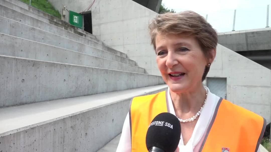 Noch ein Jahr bis zur Eröffnung des Ceneri-Basistunnels