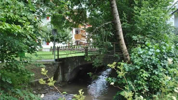 Für den Hochwasserschutz im Möhlintal soll unter anderem «Engelsteg» in Zeiningen ersetzt werden. Archiv