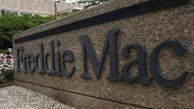Logo des US-Immobilienfinanzierers Freddie Mac in McLean, Virginia (Archiv)