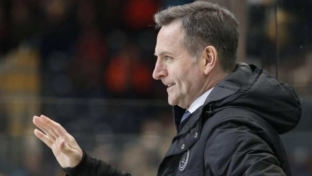 Cheftrainer Serge Pelletier muss mit dem HC Lugano weiterhin hart um die Playoff-Teilnahme kämpfen