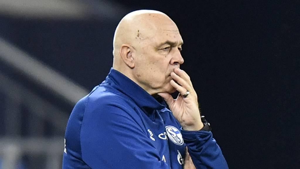 Schalke dementiert Spieler-Aufstand gegen Gross