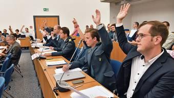Die SVP will auch ohne GLP eine Listenverbindung mit der FDP und der CVP eingehen (im Bild die SVP-Fraktion im Gemeindeparlament).