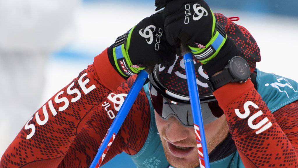 Beim ersten Olympia-Einsatz in Pyeongchang ohne Medaille: Dario Cologna