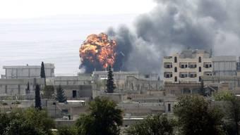 Die IS-Kämpfer dringen nach Wochen in die Stadt Kobane ein