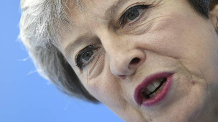Die britische Premierministerin Theresa May will eine Freihandelszone mit der EU nach dem Ausstieg aus der Union.