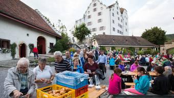 Leserwandern: Letzte Etappe Lenzburg-Wildegg
