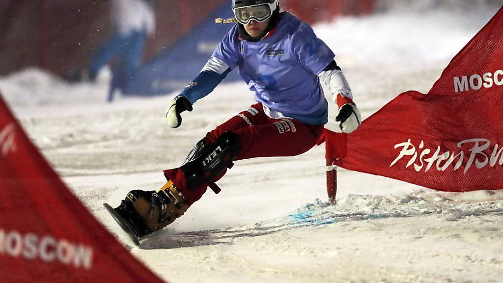 Bestresultat unter Flutlicht: Im Januar fuhr Nicole Baumgartner in Moskau auf den 8. Platz