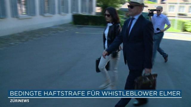 Whistleblower Elmer muss hinter Gitter