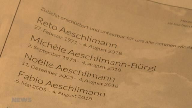Pilatus-Flugzeugabsturz Nidwalden: Familienmitglieder nehmen Abschied