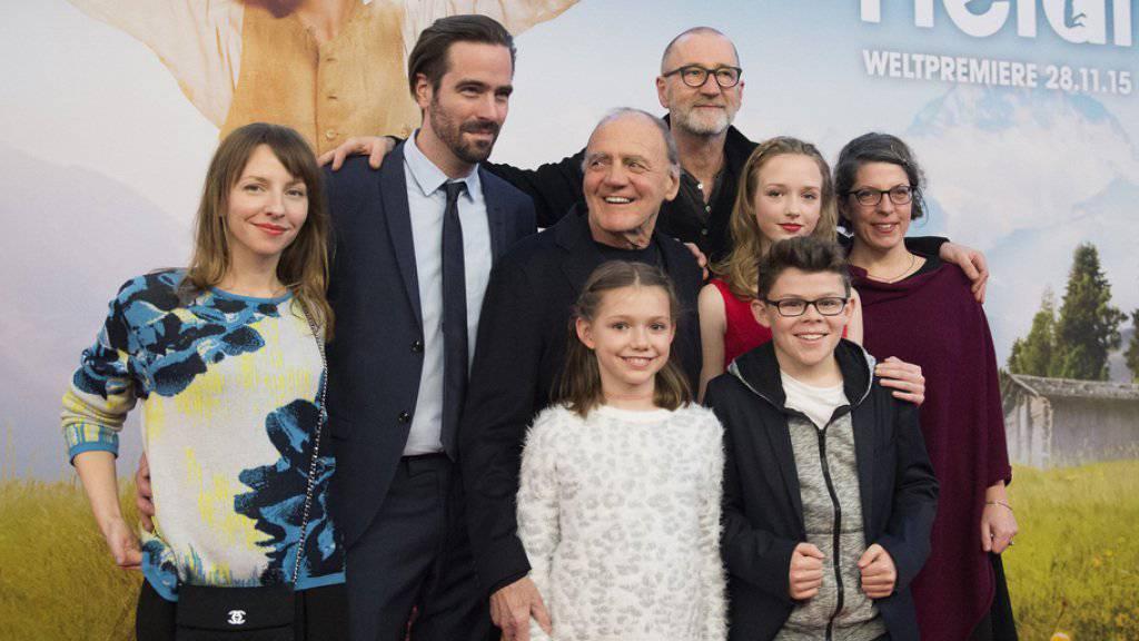 Die «Heidi»-Crew hat am Wochenende die Herzen der Tessiner Kinogängerinnen und -gänger erobert (Archiv)