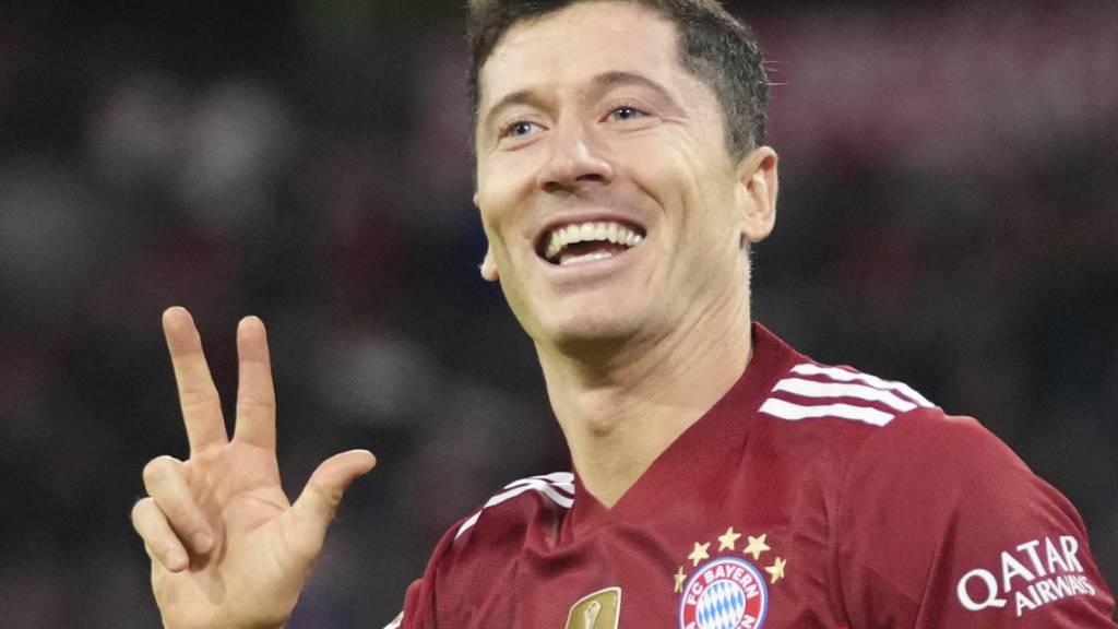 Lewandowskis schiesst Bayern München zum Kantersieg