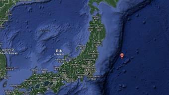 Das Zentrum des Bebens lag etwa 370 Kilometer vor der japanischen Küste