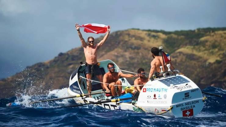 Swiss Mocean brauchte für die rund 5000 Kilometer lange Strecke von La Gomera nach Antigua nur 30 Tage und beendete das Rennen auf Rang 3.