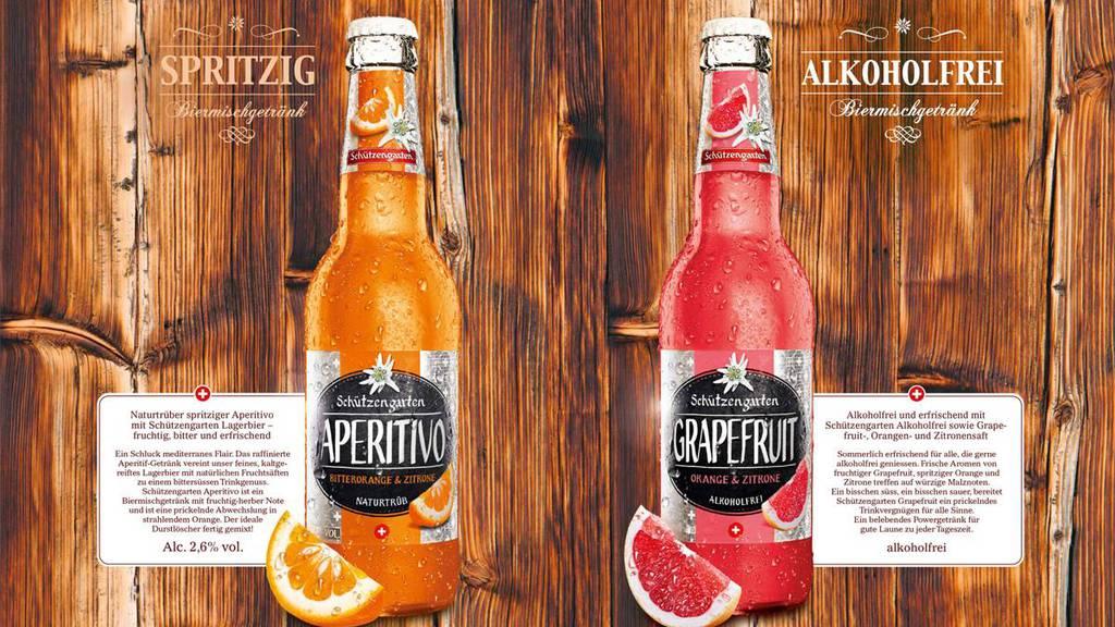 Schützengarten bringt zwei neue Biermischgetränke auf den Markt. Ansprechen will man damit vor allem Frauen.