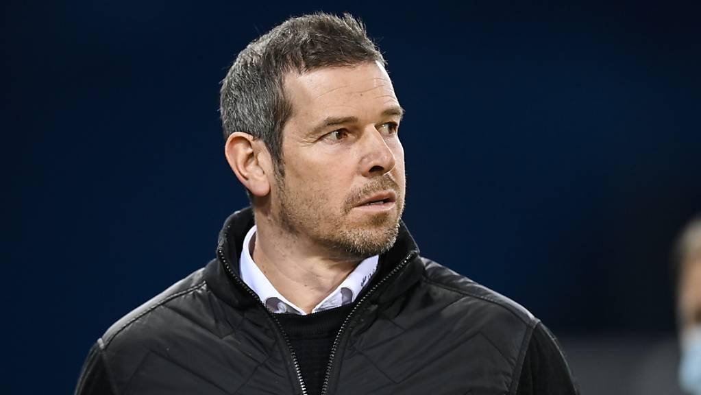 Trainer Mario Frick ist mit dem FC Vaduz noch Tabellenletzter. Aber die Liechtensteiner sind im Hoch.