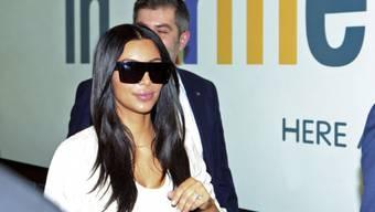 Kim Kardashian bei ihrer Ankunft in Armenien am Mittwoch