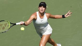 Belinda Bencic bezog in Peking eine weitere Start-Niederlage