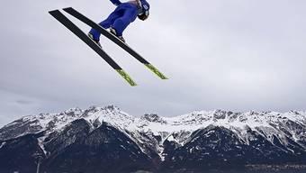 Killian Peier fliegt der Stadt Innsbruck entgegen.