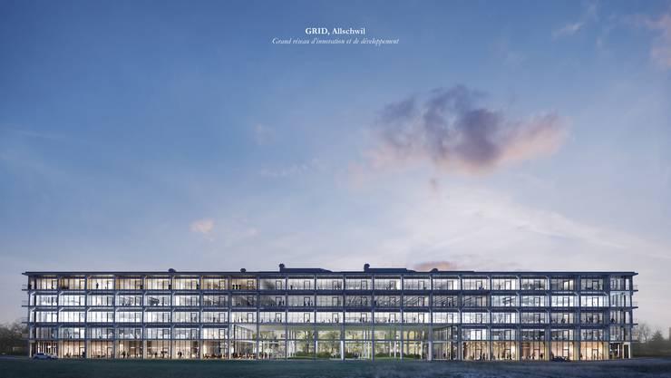 Herzog & de Meuron haben für den St. Galler Bauentwickler Senn das GRID entworfen.
