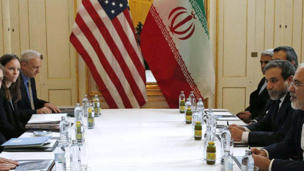 Jahrelang handelten der Iran und die 5+1-Staaten einen Vertrag aus, der dem Iran die zivile Nutzung von Atomenergie ermöglichen sollte. Der designierte US-Präsident Trump nannte dies den «schlechtesten Deal aller Zeiten» - US-Wissenschaftler sind da anderer Meinung. (Archiv)