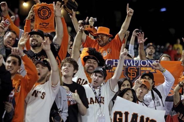 Die Giants gewinnen nach 56 Jahren wieder die World Series