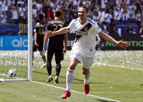 Zlatan Ibrahimović gehört zu den Zugpferden der MLS.