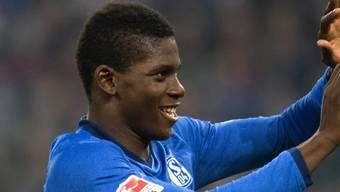Breel Embolo ist jetzt anscheinend auch schon auf Schalke zu Hause.