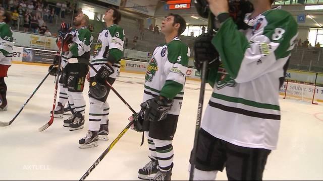 Ein Hockeyspiel in Gedenken an Jim Koleff