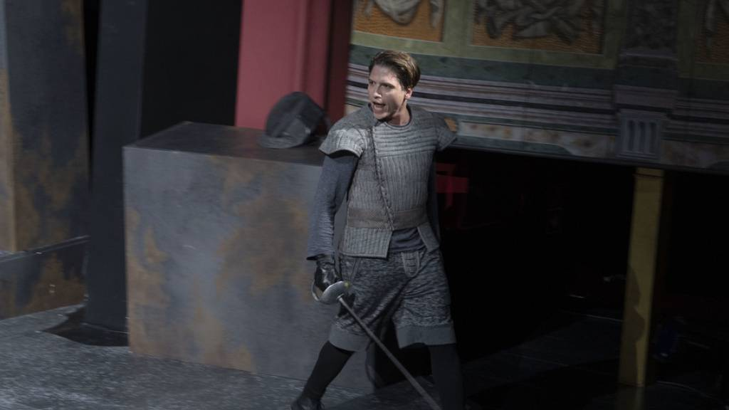 Dimitri Stapfer steht ab heute wieder als Romeo auf der Bühne