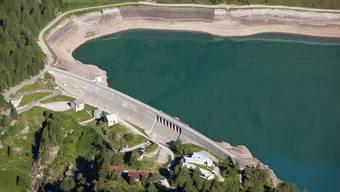 Wird bald erneuert: Das Kraftwerk Ritom-Stausee, an dem die SBB beteiligt sind.