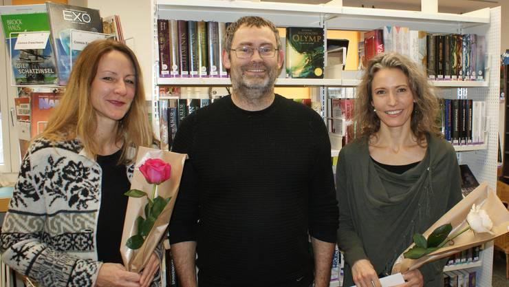 Sandra Mannhart, Remo Isch, Marlene Zweifel (von links)