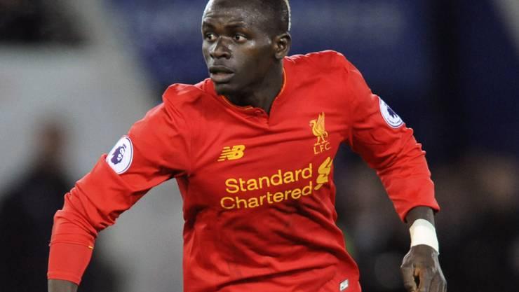 Sadio Mané traf für Liverpool mit einem spektakulären Drehschuss