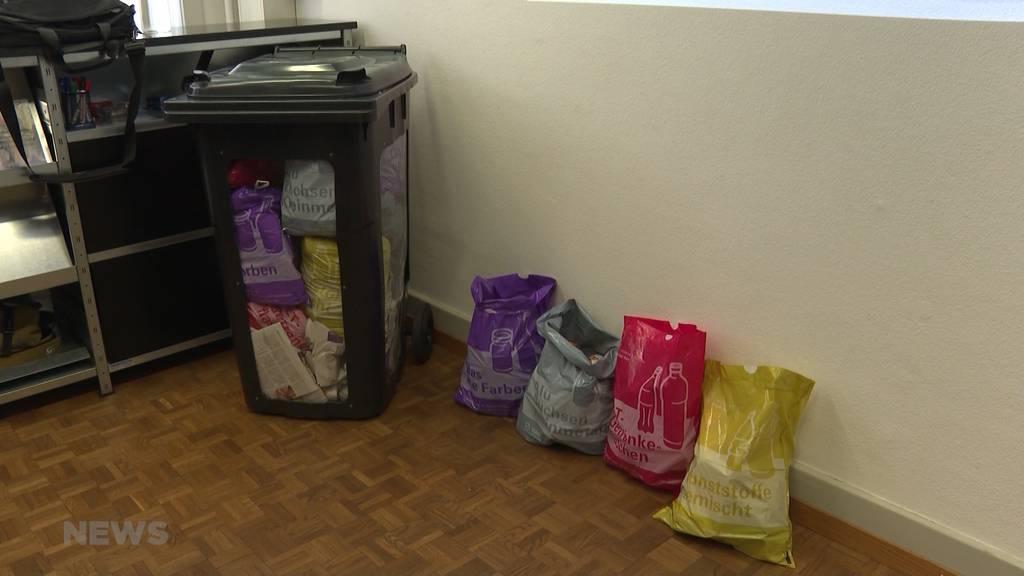 Buntes Recycling: Neue Abfalltrennung in Bern?