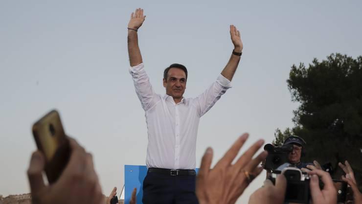 Der neue griechische Premier Kyriakos Mitsotakis (51) in Athen.