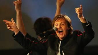 Paul McCartney singt «Hey Jude» bei der Eröffnungsfeier der Olympischen Spiele 2012