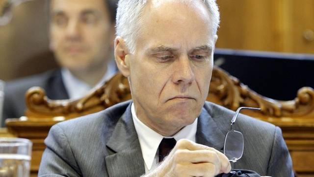 Moritz Leuenberger will nochmals Bundespräsident werden (Archiv)