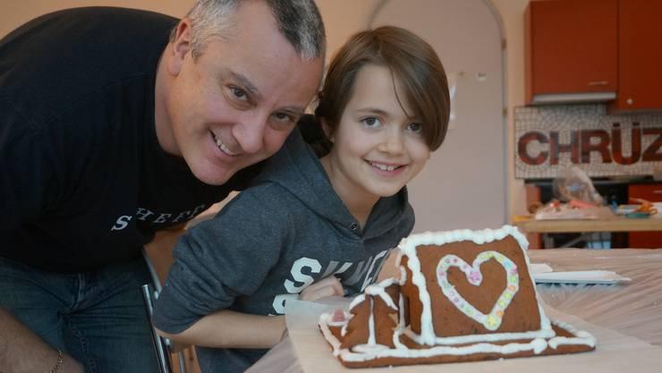 Götti und Onkel Thomas Angst mit Jill - ein Herz fuer Weihnachten - das Fest der Liebe