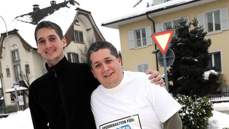 Sind fit für die «Tour de JRZ»: Raphael Meyer (l.) und Ruedi Bleiker