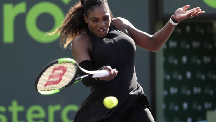 Serena Williams wurde durch die Schwangerschaft zurückgeworfen
