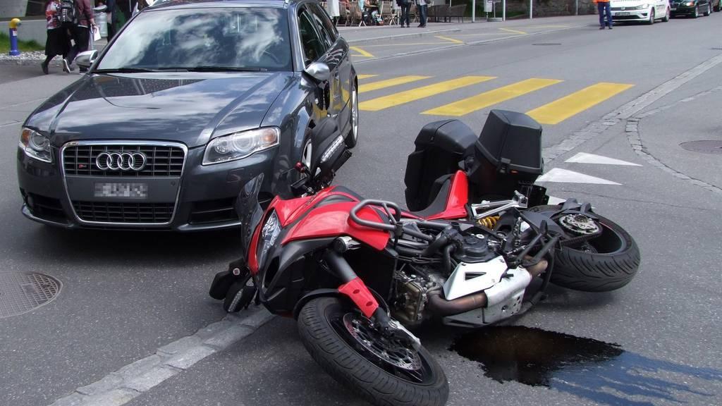 Ob die Autofahrerin wirklich blinkte?
