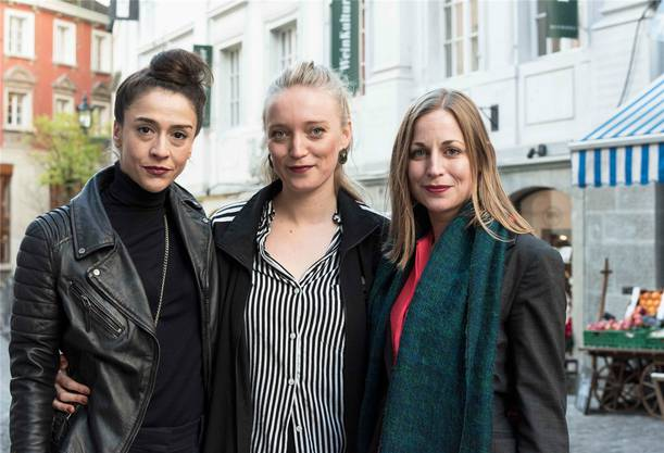 Zukünftige Direktion: Hayat Erdoğan, Tine Milz und Julia Reichert leiten das Theater am Neumarkt ab der Spielzeit 2019/20. Tom Haller