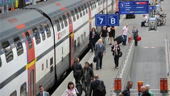 Ab 22.Mai fallen auch am Tag Züge von Basel nach Zürich weg.
