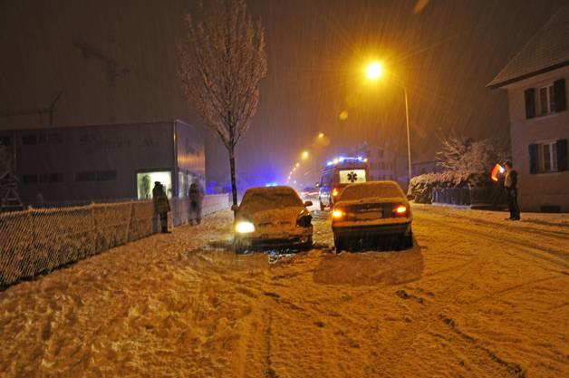 Am Montagmorgen gab es zahlreiche Unfälle auf den Aargauer Strassen.