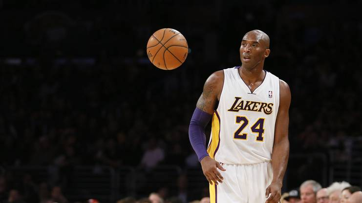 Spielte 20 Jahre für die Los Angeles Lakers: Kobe Bryant.