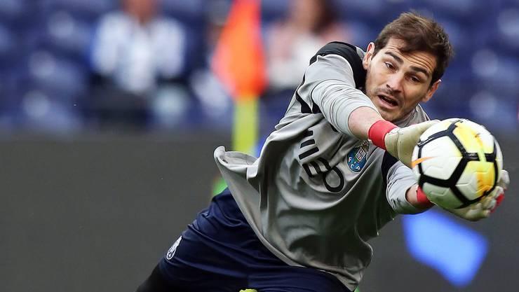 Iker Casillas hat seit dem Oster-Wochenende 1000 Profi-Einsätze auf dem Buckel.