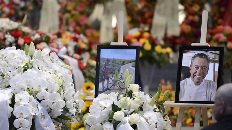 Über 1000 Personen erwiesen dem verstorbenen Waadtländer Spitzenkoch Philippe Rochat die letzte Ehre.