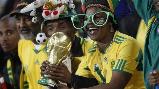 Die Träume der südafrikanischen Fans dürften nicht in Erfüllung gehen
